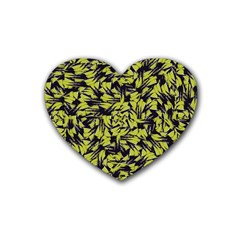 Modern Abstract Interlace Heart Coaster (4 pack)