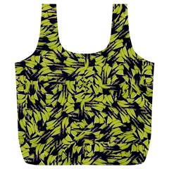 Modern Abstract Interlace Full Print Recycle Bags (L)
