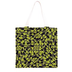 Modern Abstract Interlace Grocery Light Tote Bag