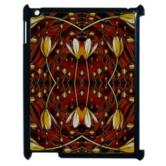 Fantasy Flowers And Leather In A World Of Harmony Apple iPad 2 Case (Black)