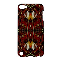 Fantasy Flowers And Leather In A World Of Harmony Apple iPod Touch 5 Hardshell Case