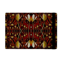 Fantasy Flowers And Leather In A World Of Harmony Apple iPad Mini Flip Case