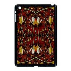 Fantasy Flowers And Leather In A World Of Harmony Apple Ipad Mini Case (black)