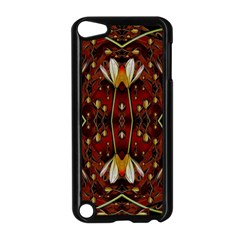 Fantasy Flowers And Leather In A World Of Harmony Apple iPod Touch 5 Case (Black)