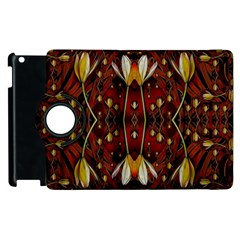 Fantasy Flowers And Leather In A World Of Harmony Apple iPad 3/4 Flip 360 Case