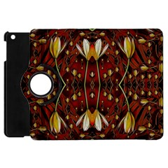 Fantasy Flowers And Leather In A World Of Harmony Apple iPad Mini Flip 360 Case