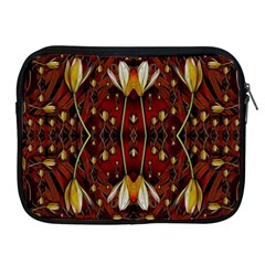 Fantasy Flowers And Leather In A World Of Harmony Apple Ipad 2/3/4 Zipper Cases