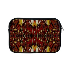 Fantasy Flowers And Leather In A World Of Harmony Apple iPad Mini Zipper Cases