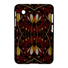Fantasy Flowers And Leather In A World Of Harmony Samsung Galaxy Tab 2 (7 ) P3100 Hardshell Case