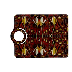 Fantasy Flowers And Leather In A World Of Harmony Kindle Fire Hd (2013) Flip 360 Case