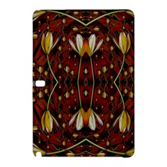 Fantasy Flowers And Leather In A World Of Harmony Samsung Galaxy Tab Pro 10.1 Hardshell Case