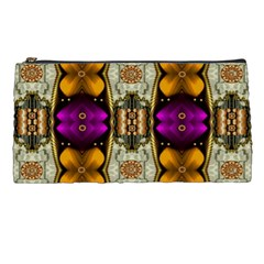 Contemplative Floral And Pearls  Pencil Cases