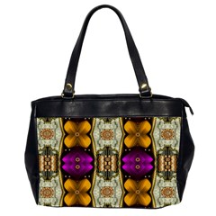 Contemplative Floral And Pearls  Office Handbags (2 Sides)