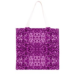 Lion In Purple Grocery Light Tote Bag