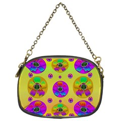 Floral Love And Why Not In Neon Chain Purses (One Side)