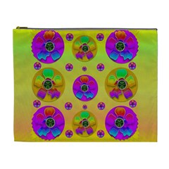 Floral Love And Why Not In Neon Cosmetic Bag (XL)