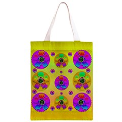 Floral Love And Why Not In Neon Classic Light Tote Bag