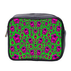 Fantasy Valentine In Floral Love And Peace Time Mini Toiletries Bag 2-Side