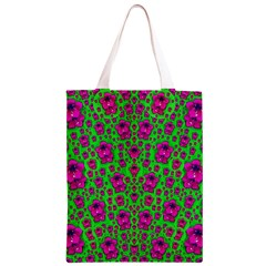 Fantasy Valentine In Floral Love And Peace Time Classic Light Tote Bag