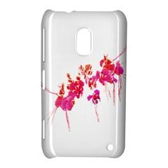 Minimal Floral Print Nokia Lumia 620