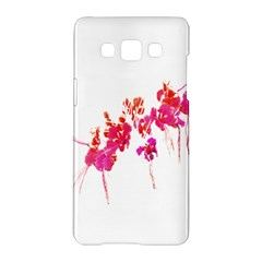 Minimal Floral Print Samsung Galaxy A5 Hardshell Case