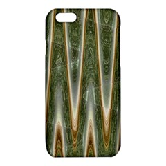 Green Brown Zigzag iPhone 6/6S TPU Case
