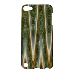 Green Brown Zigzag Apple iPod Touch 5 Hardshell Case