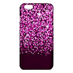 Pink Glitter Rain iPhone 6 Plus/6S Plus TPU Case