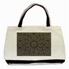 Geometric Boho Print Basic Tote Bag