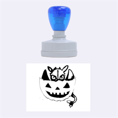 Halloween Dragon Rubber Oval Stamps