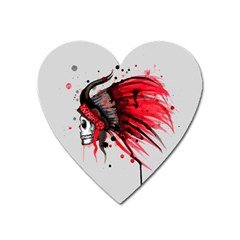 Savages Heart Magnet