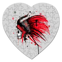 Savages Jigsaw Puzzle (Heart)