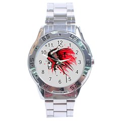 Savages Stainless Steel Analogue Watch
