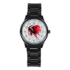 Savages Stainless Steel Round Watch