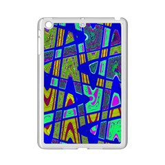 Bright Blue Mod Pop Art  iPad Mini 2 Enamel Coated Cases