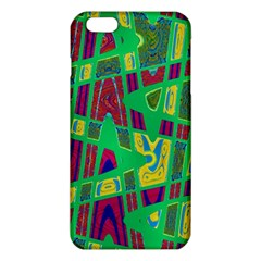 Bright Green Mod Pop Art iPhone 6 Plus/6S Plus TPU Case