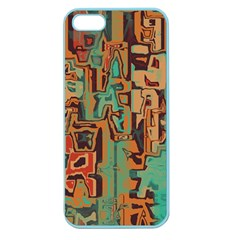 Brown green texture                              Apple Seamless iPhone 5 Case (Color)