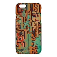 Brown green texture                              iPhone 6/6S TPU Case