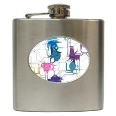 Cracked wall                                 			Hip Flask (6 oz)