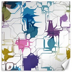 Cracked wall                                 Canvas 12  x 12