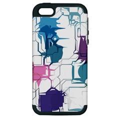 Cracked wall                                 Apple iPhone 5 Hardshell Case (PC+Silicone)