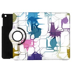 Cracked wall                                 			Apple iPad Mini Flip 360 Case
