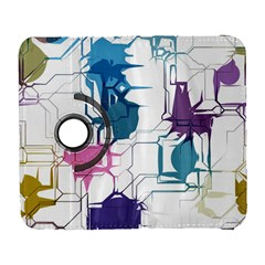 Cracked wall                                 			Samsung Galaxy S III Flip 360 Case