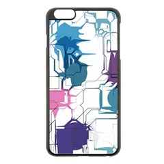 Cracked wall                                 			Apple iPhone 6 Plus/6S Plus Black Enamel Case