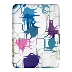 Cracked wall                                 			Samsung Galaxy Tab 4 (10.1 ) Hardshell Case