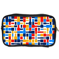 Colorful shapes                                  Toiletries Bag (Two Sides)