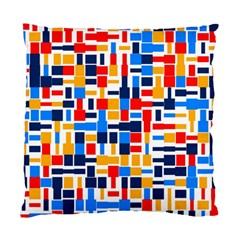 Colorful shapes                                  	Standard Cushion Case (Two Sides)
