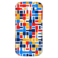 Colorful shapes                                  Samsung Galaxy S3 S III Classic Hardshell Back Case
