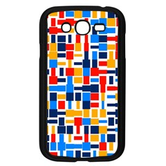Colorful shapes                                  			Samsung Galaxy Grand DUOS I9082 Case (Black)