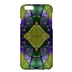 Purple Yellow Stone Abstract Apple Iphone 6 Plus/6s Plus Hardshell Case